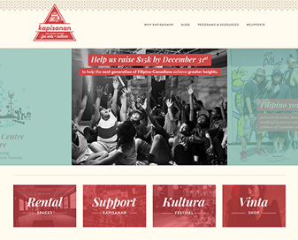 KAPISANAN CENTRE FOR ARTS + CULTURE REBRAND + WEBSITE  - just launched!