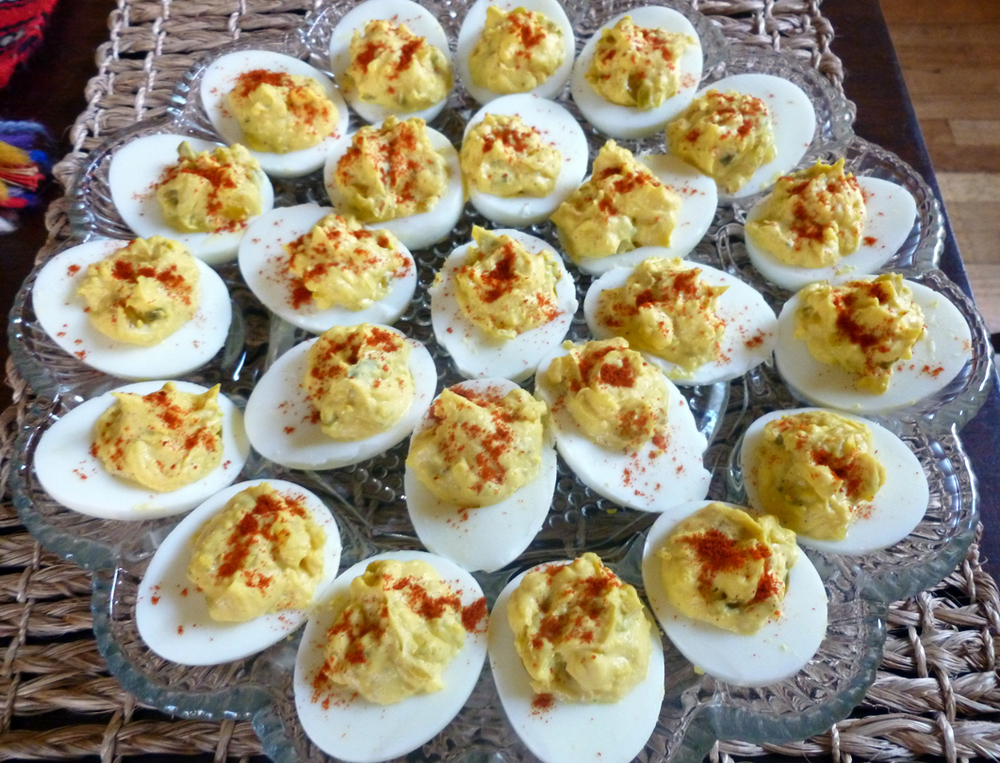 Deep South Deviled Eggs