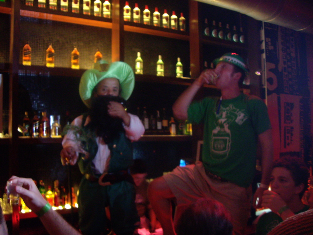 St. Patty's Pub Crawl in Buenos Aires