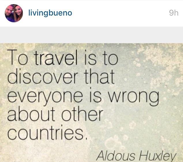 Follow us on Instagram @livingbueno