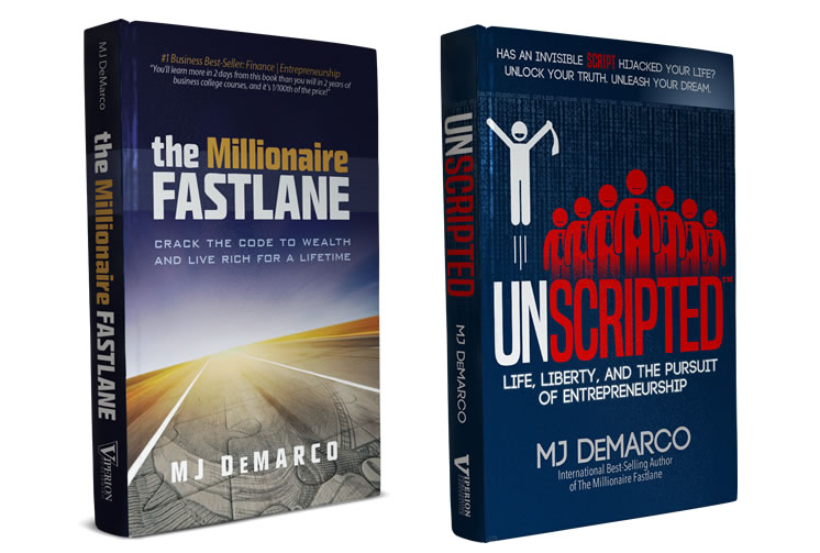 MJ Demarcos The Millionaire Fastlane and his new book Unscripted, both highly recommended.