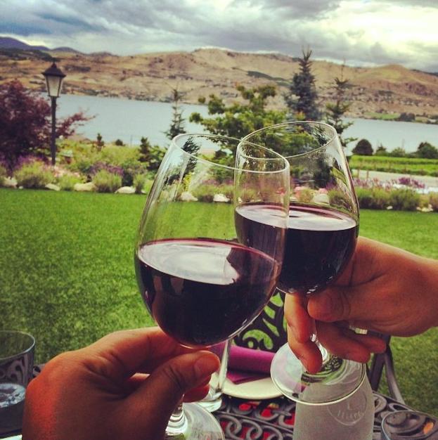 chelan e vino