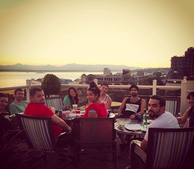 Rooftop Party Seattle