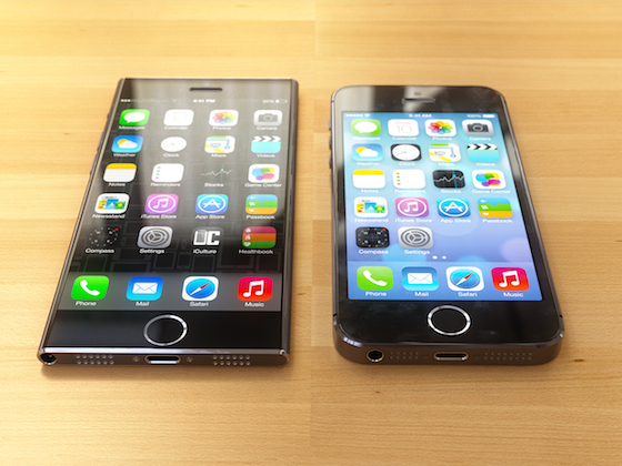 Concepto de iPhone 6 inspirado en iPod Touch