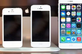 iPhone 4s, iPhone 5 y Posible iPhone 6