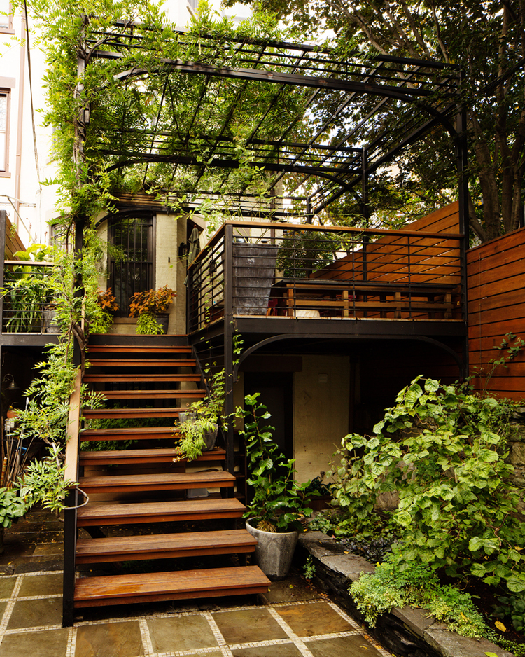 Park Slope Deck Garden K Hoyt Architecture Landscape