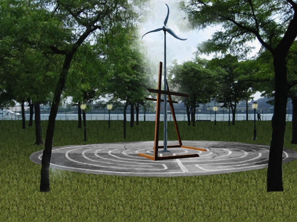 visionary image: ways to power ourselves and a park.