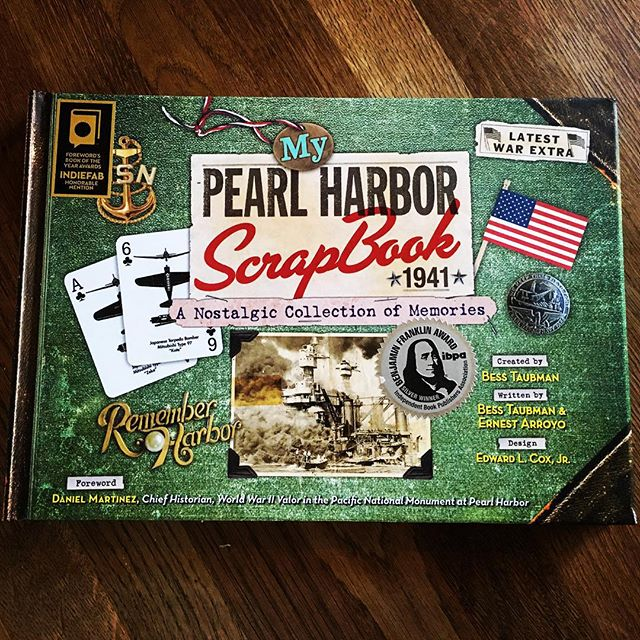 Spent the morning reading this stellar historical scrapbook take on the attack on Pearl Harbor, from SCB Distributors and Mapmania Publishing.