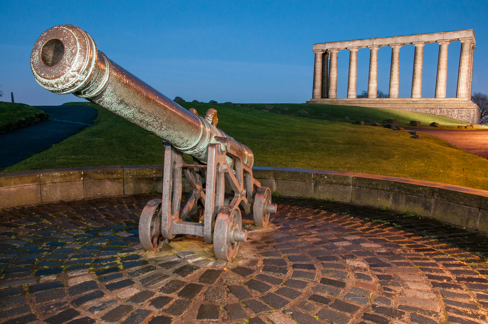 Cannon and National Monument