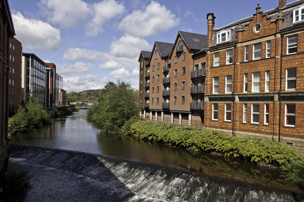 River Sheaf from Lady's Bridge