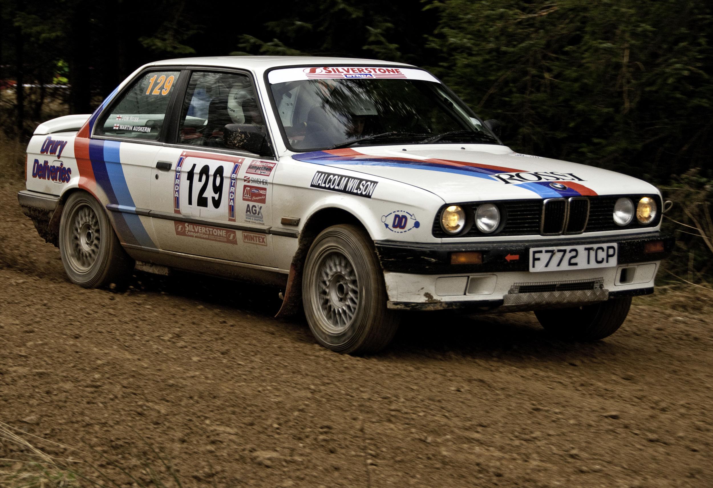BMW 325 Rally Car  Ed OKeeffe Photography