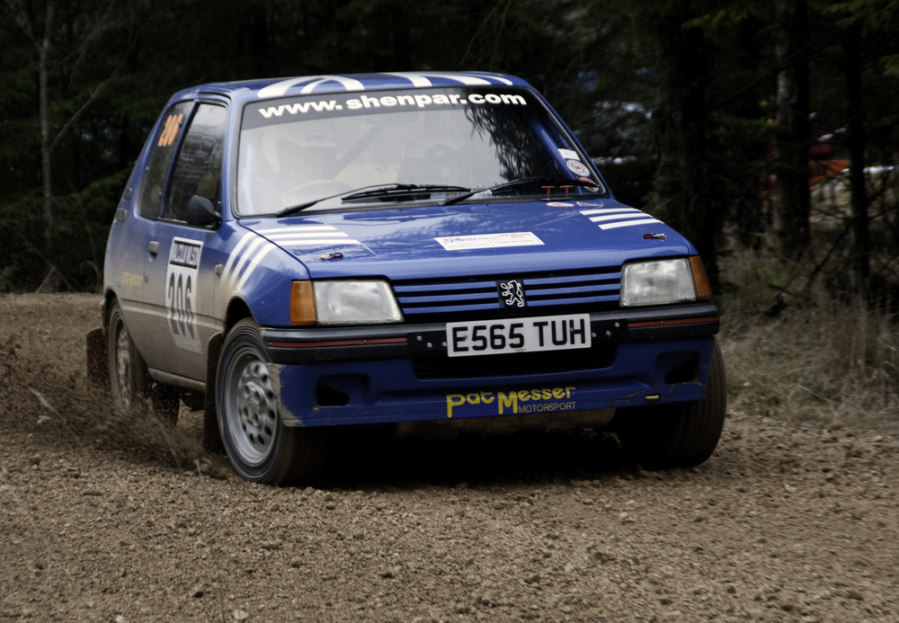 Peugeot 205 XS Rally Car