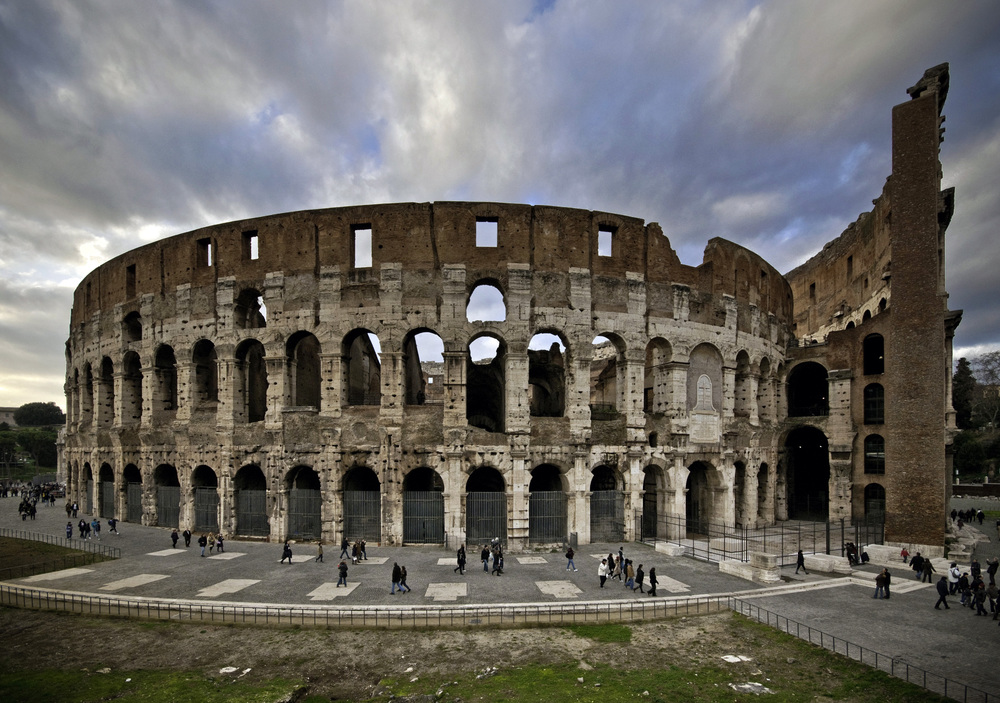 Colosseum from the East Rome Italy