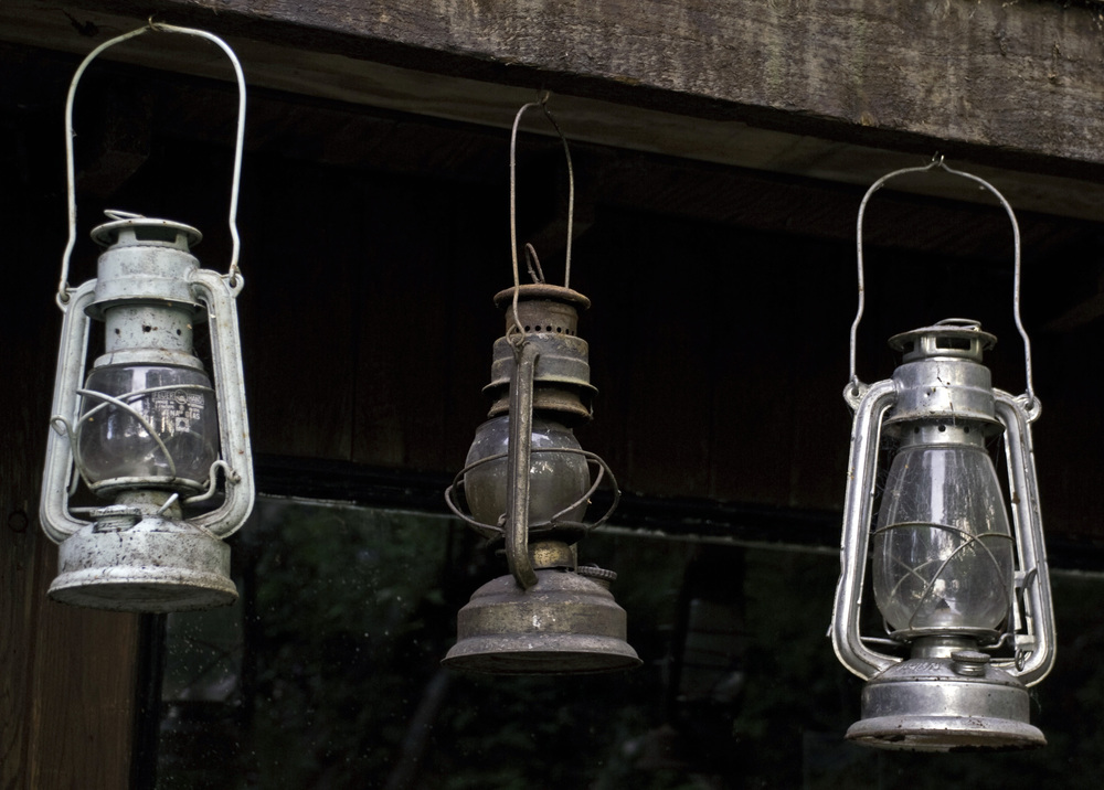 Trio of Vintage Lanterns
