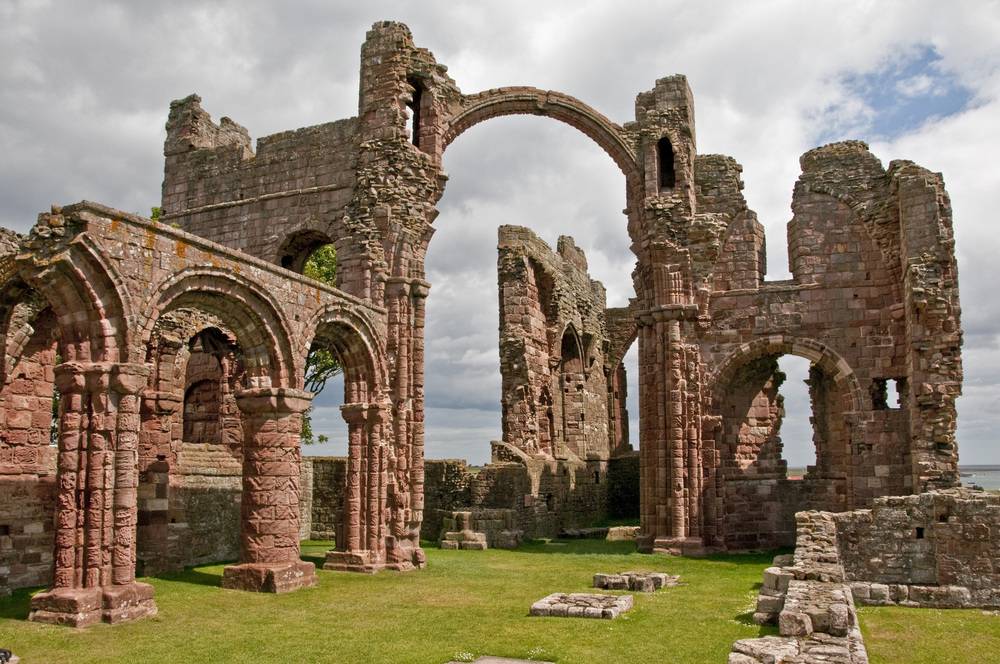 Priory on Lindisfarne, Northumberland
