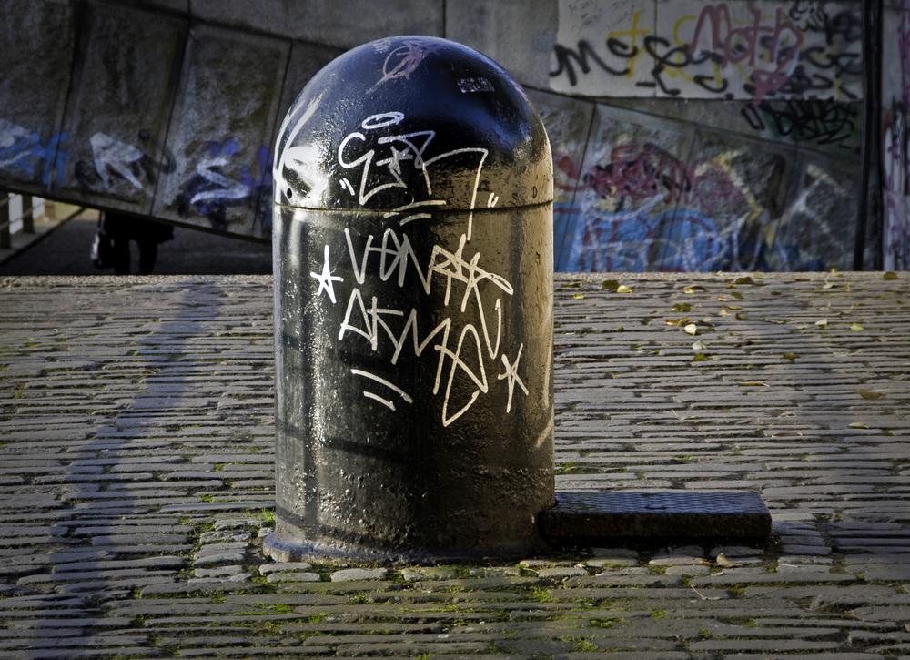 Urban Graffiti Art in Glasgow