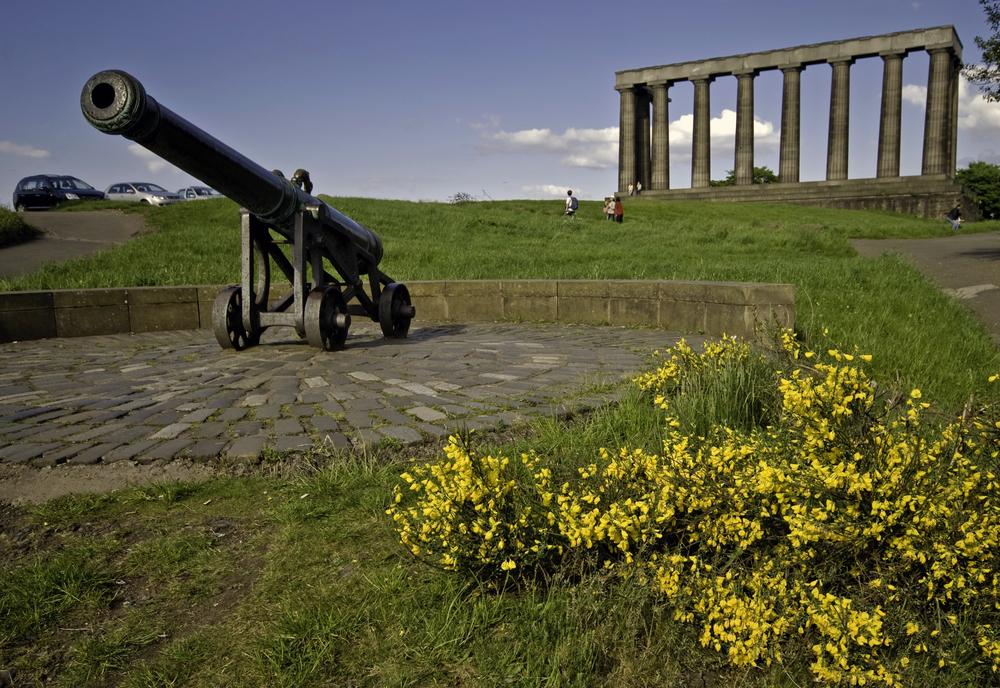 Calton Hill Cannon, Edinburgh