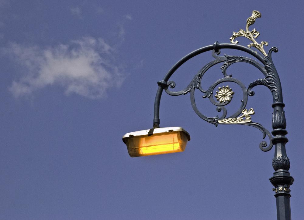 Street Lamp in Leith, Edinburgh