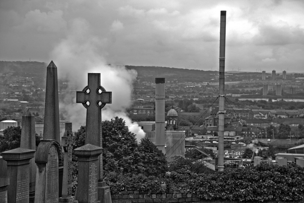 Glasgow Landscape from Necropolis