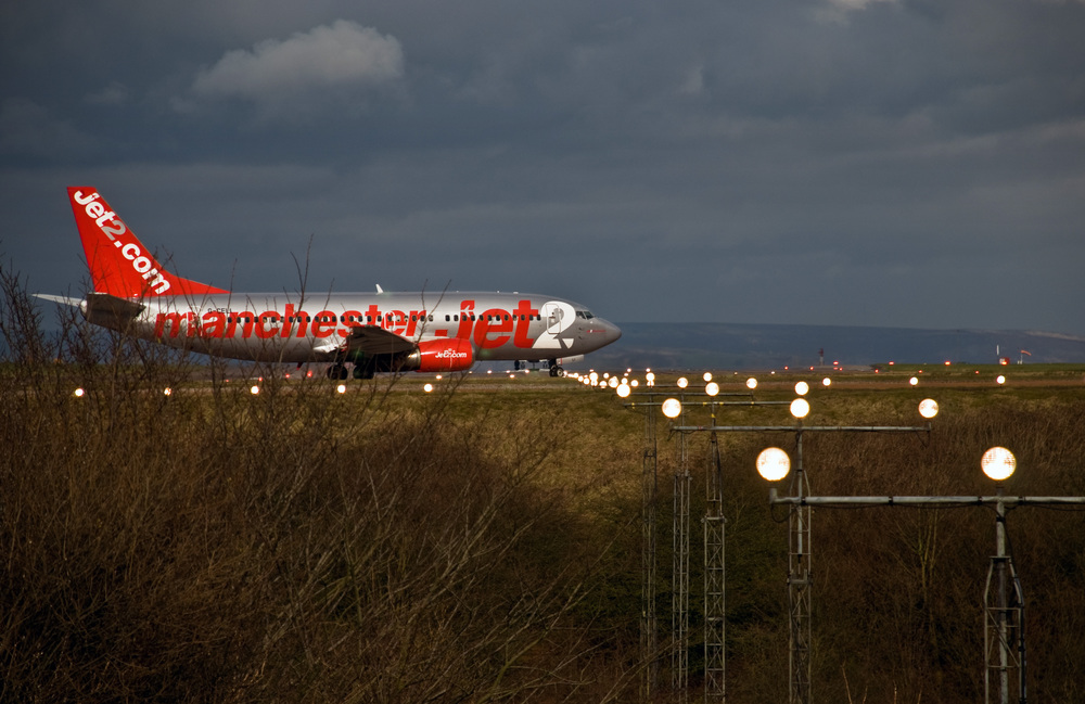 Jet2 Plane at Manchester Airport