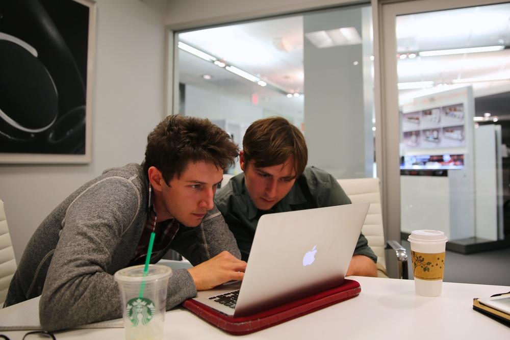 Julien & Jamie Brainstorm
