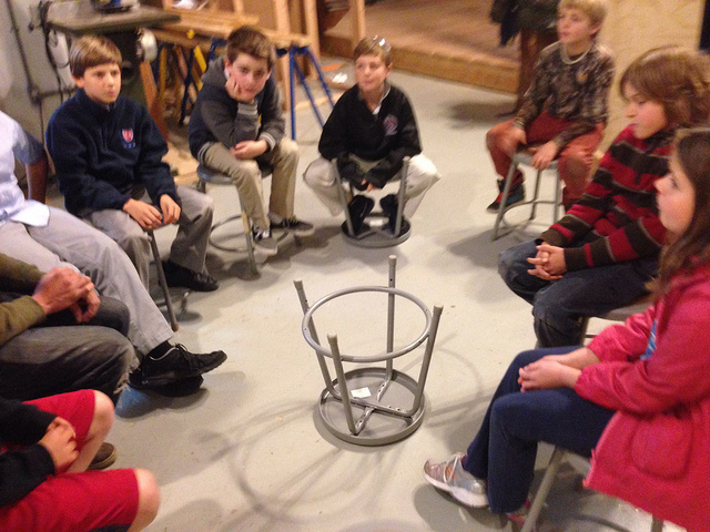 Sharing thoughts on how our stools were made.