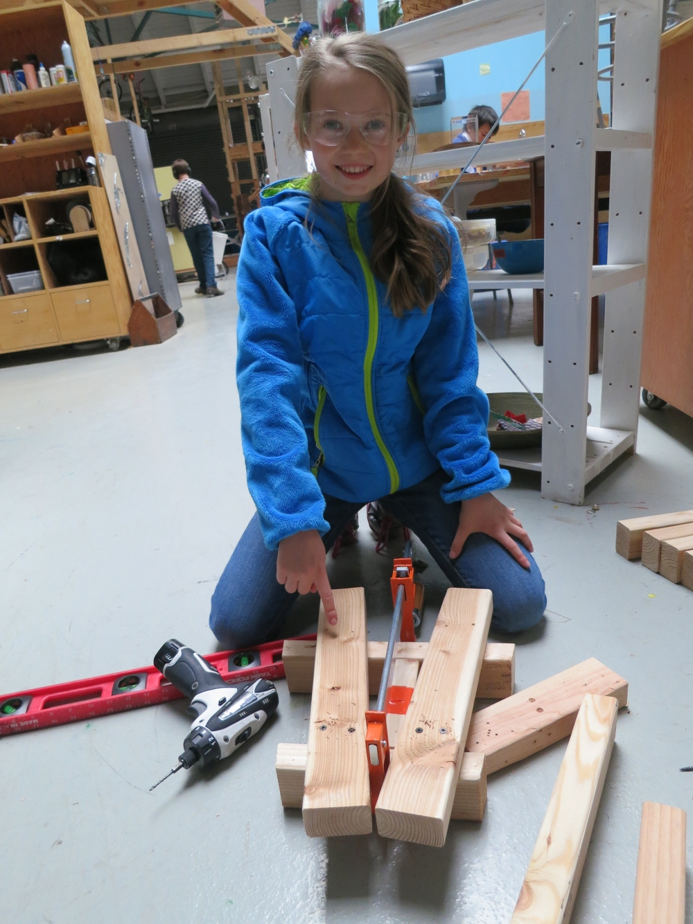 Freya shows off the first prototype of a 20-degree turn...