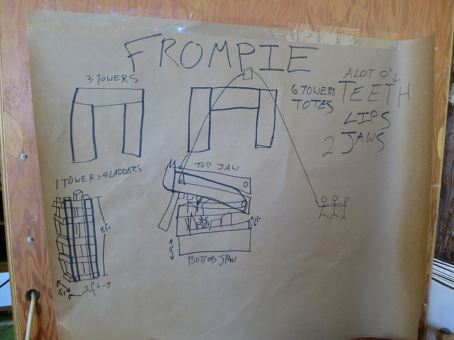 How to build a Frompie (a wombo (word combo) of Fred and Chompie)