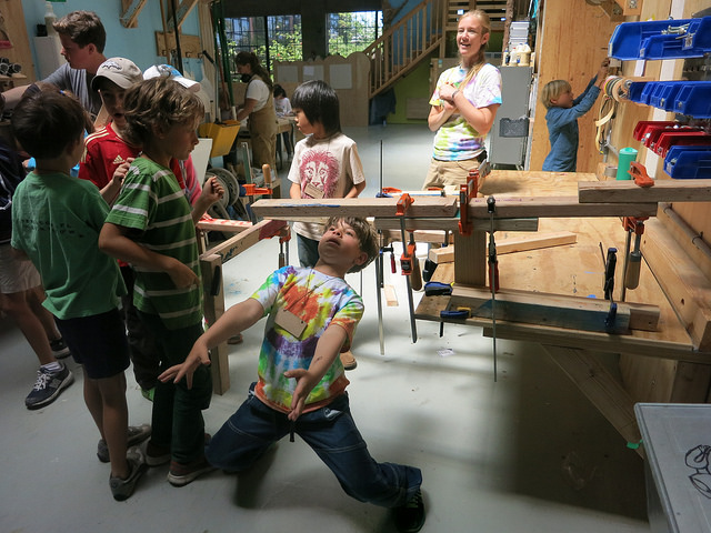 Clamp-a-ma-jig limbo, because why not?!
