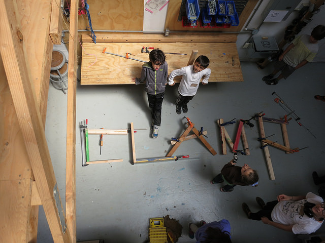 Clamps spelled with clamps; anything is possible!