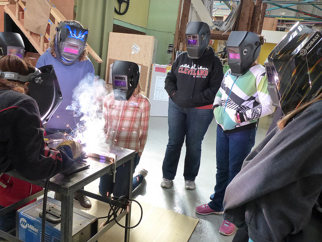 Diana - our resident welding expert talks us through the basics of welding.
