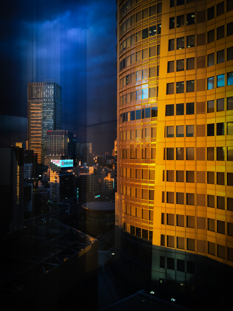 City Sunset - Tokyo, Japan