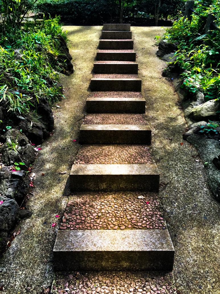Pathway, Arisugawa Park, Tokyo, Japan