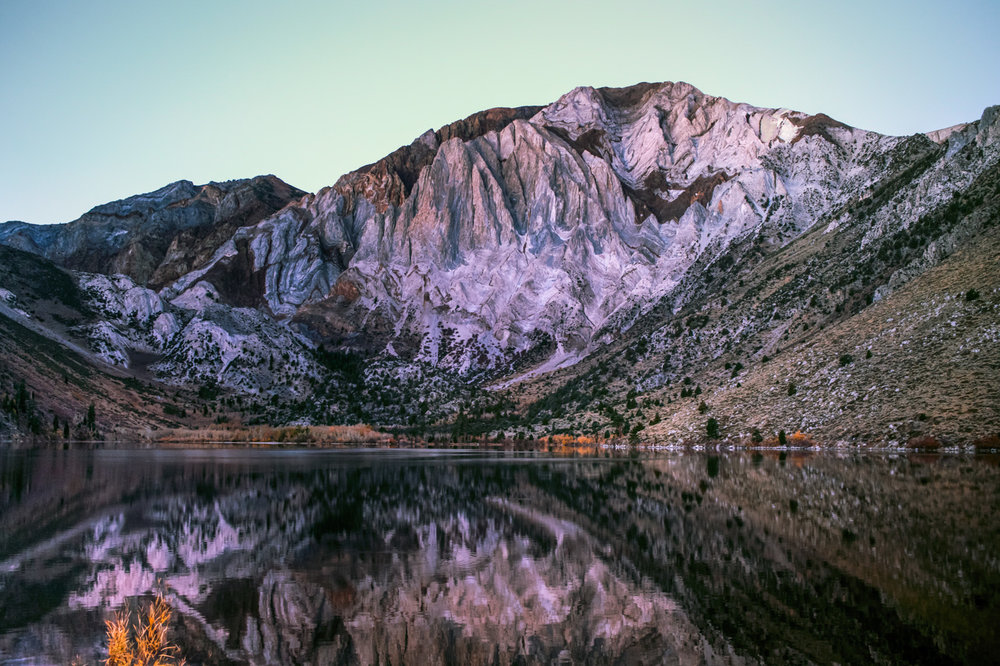 Convict Lake Mountain Reflections - Eastern Sierra