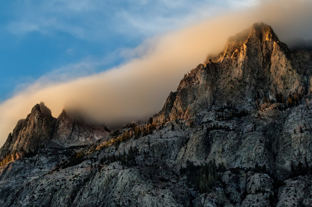 Eastern Sierra Mountaintop Sunrise