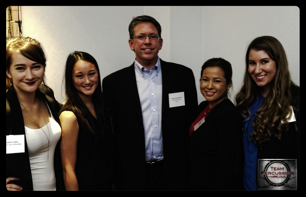 Tomiko, Lili, Jaclyn and Jessica from Prof. Byers marketing class at Santa Clara University teamed up with Jim S. from  TPerc to gain 'real world' marketing experience.