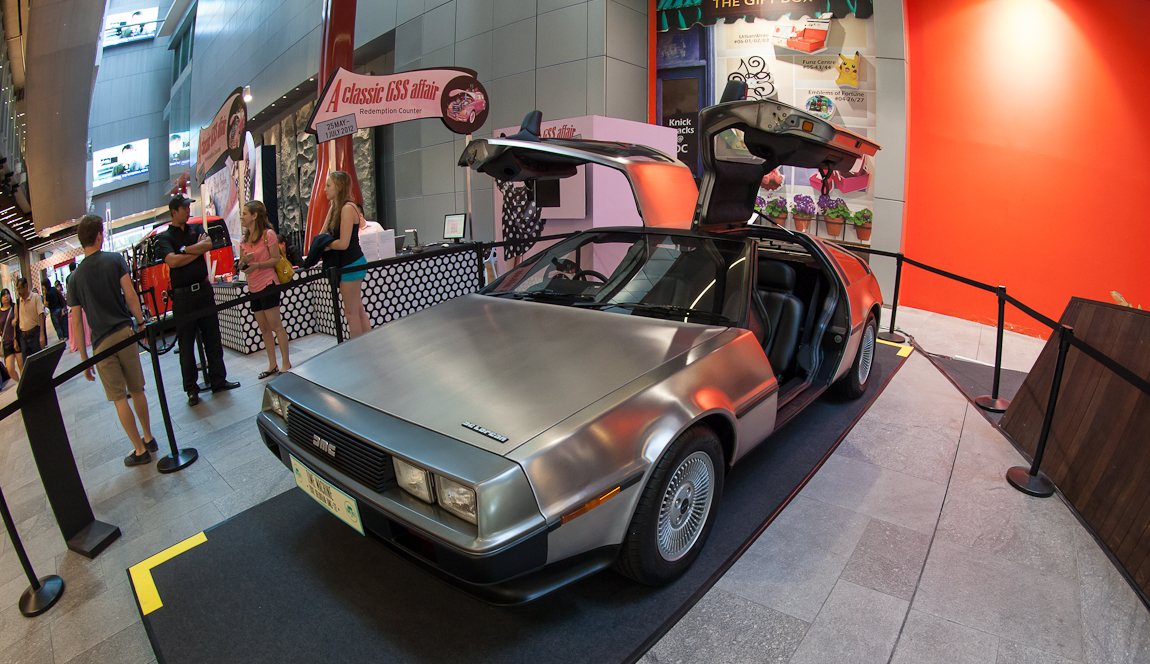 The Only DeLorean in Singapore