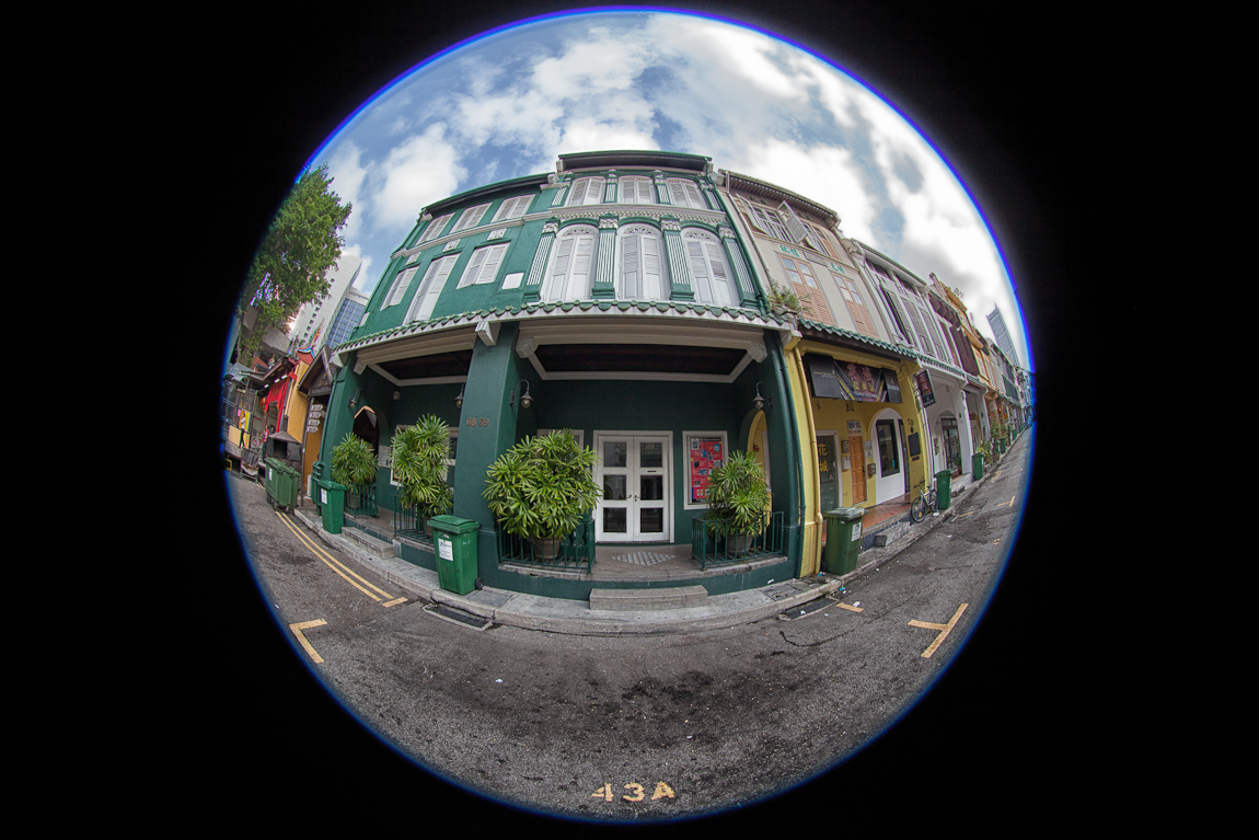 Fisheye Views of Singapore Heritage