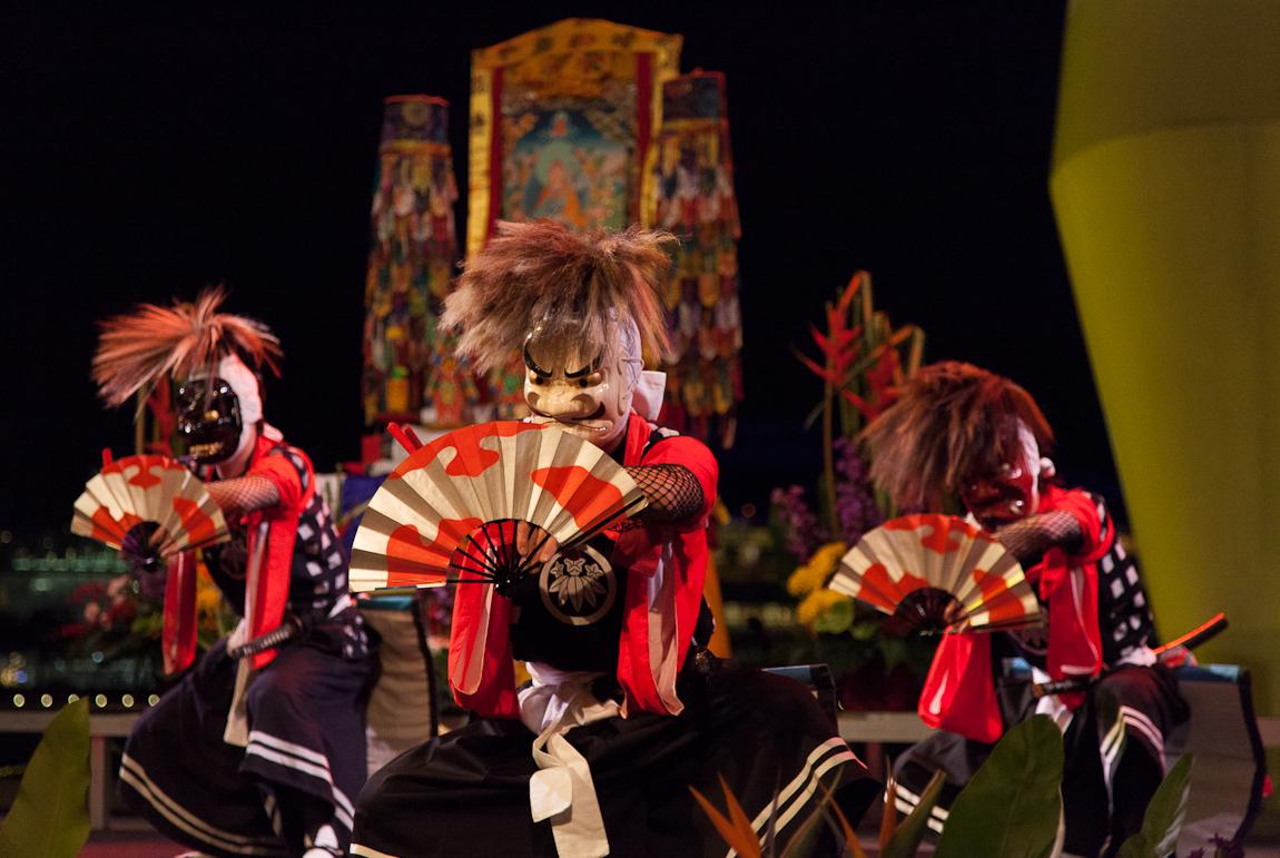 Iwasaki Oni Ken Bai Dancers in Singapore