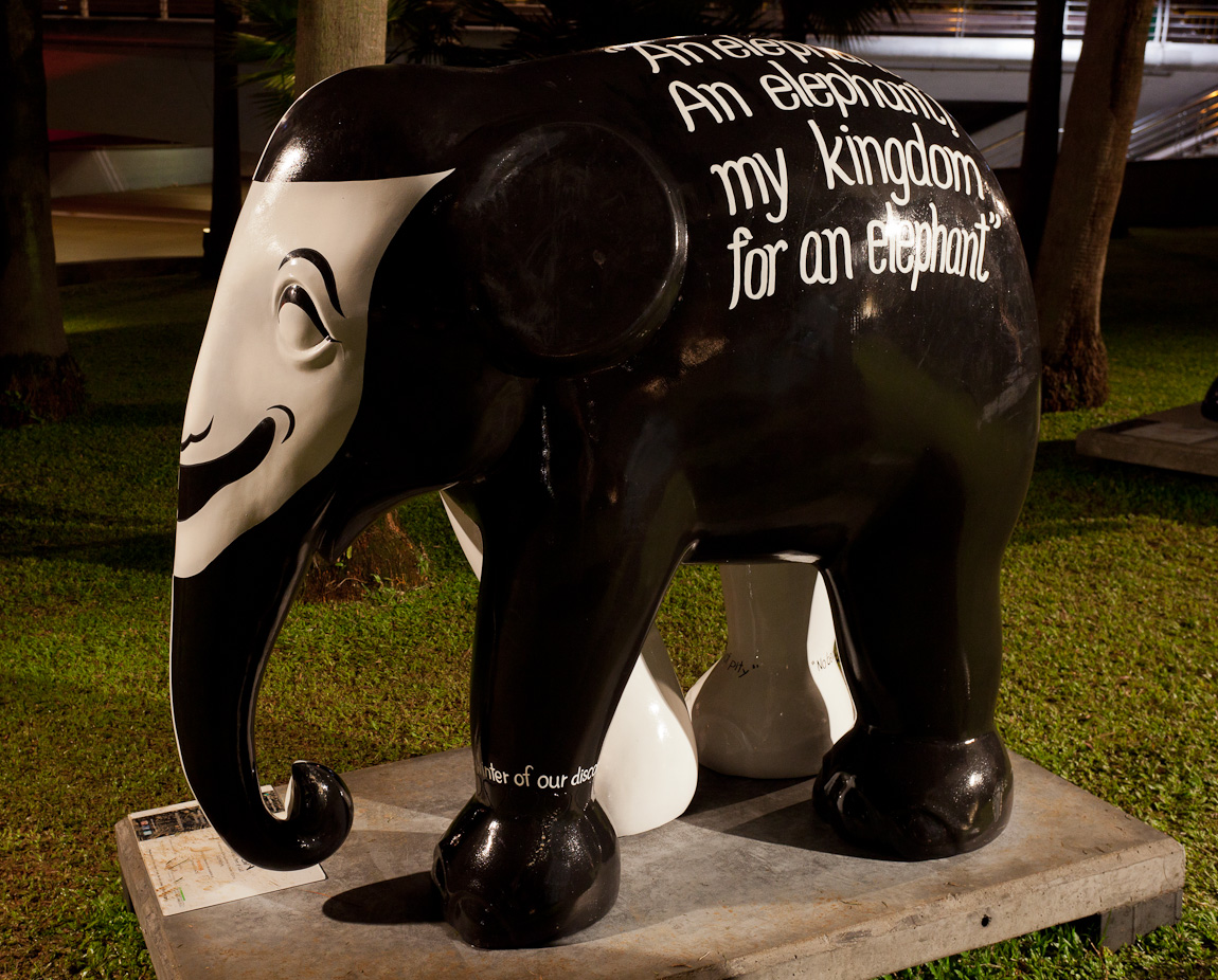 Elephant Parade Singapore - Saving Richard III