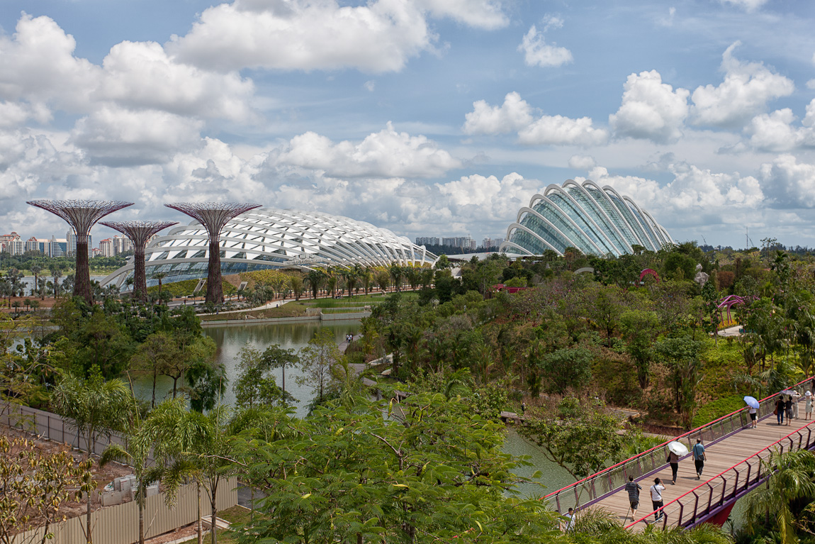 Singapore's Gardens By The Bay Flower Dome Preview