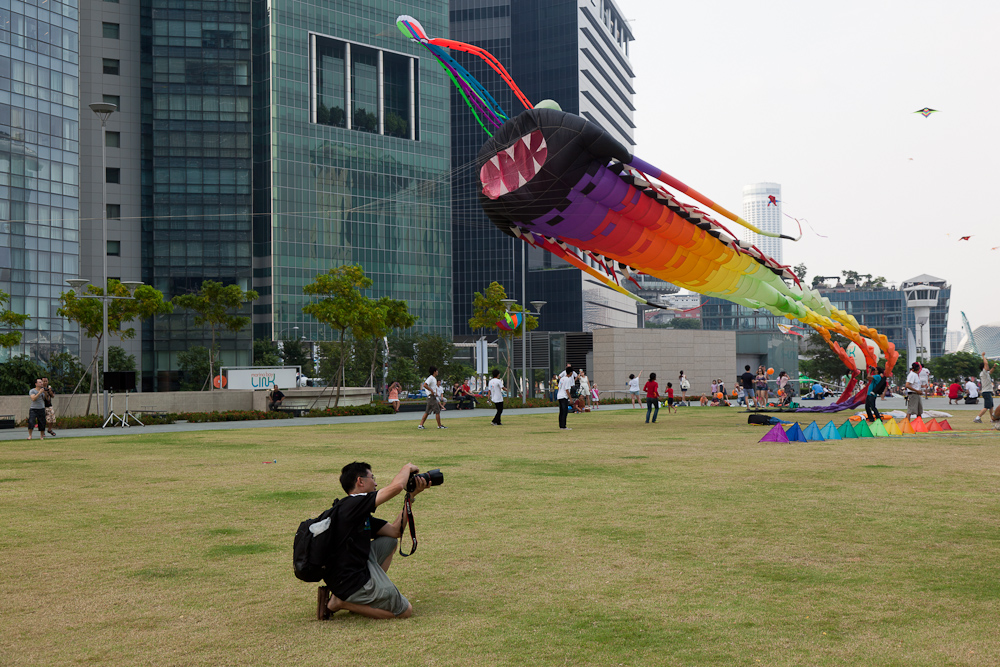 Singapore Kite Festival 2011 Photo Sequence