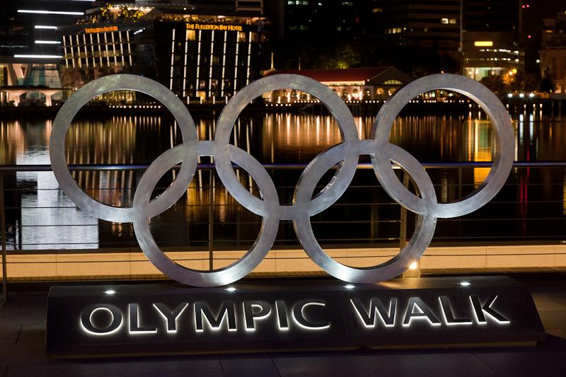 Singapore Olympic Walk