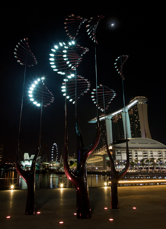 Marina Bay Art Installations