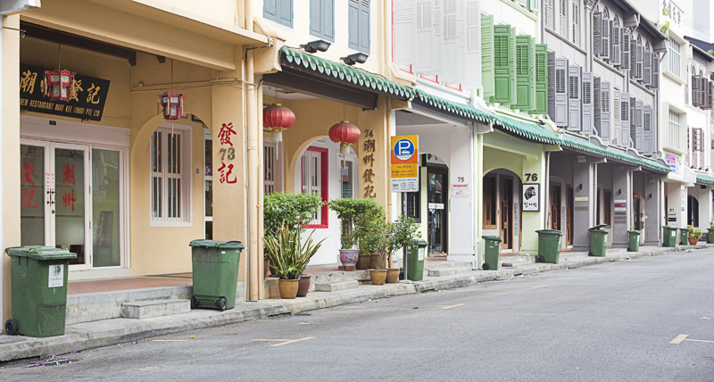 Heritage Shop Houses on Amoy Street
