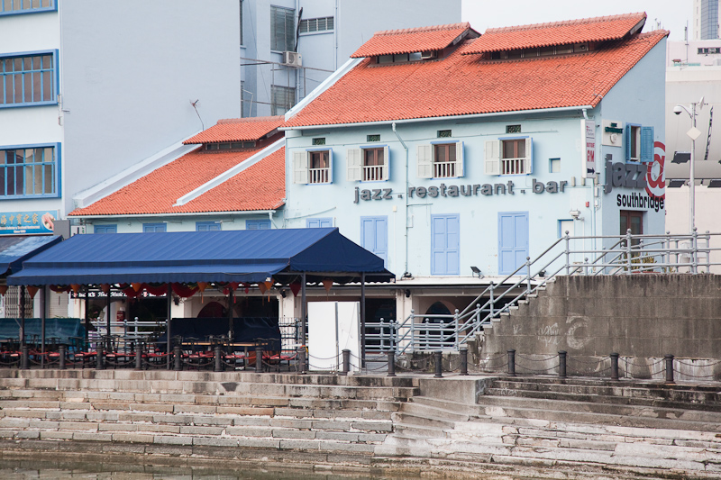 Boat Quay Views: Front & Back