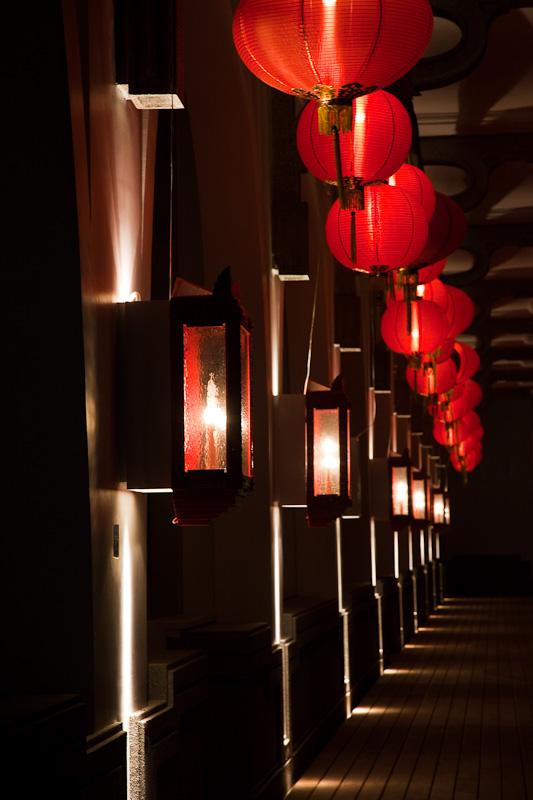 Clifford Pier Red Lanterns
