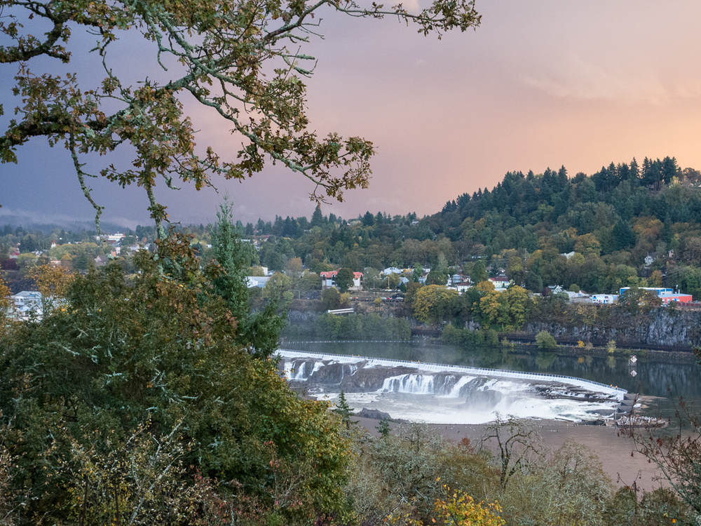 Falls on Willamette River
