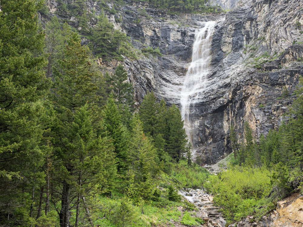 Falls at Waterton National Park