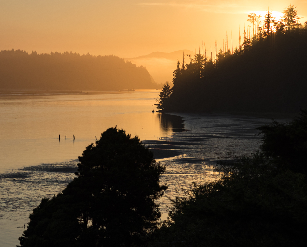 Siuslaw River Sunrise